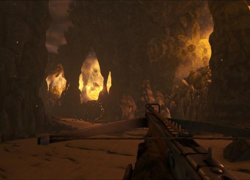 Unterwasserhöhle - Island